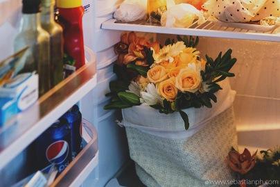fotografo reportage matrimonio firenze, wedding photojournalist photographer tuscany, matrimonio stile reportage, getting married in tuscany, bouquet nel frigorifero, bouquet in the fridge